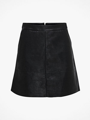Only Kjol onlLisa Faux Leather Skirt CC Otw
