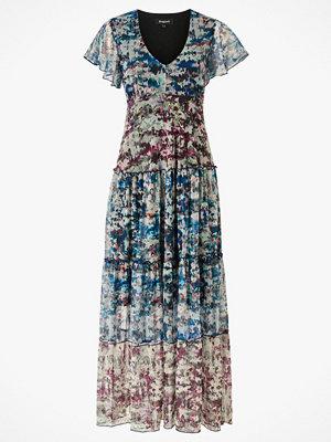 Desigual Maxiklänning Knit Dress Short Sleeve