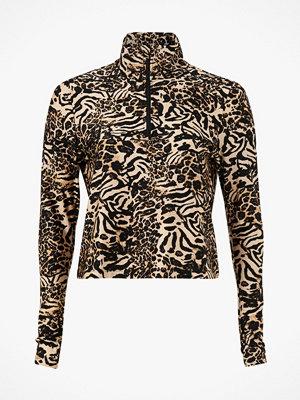 Casall Träningstopp Fusion Metallic Cropped Sweater