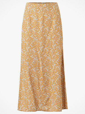 La Redoute Lång, rak kjol med blommönster