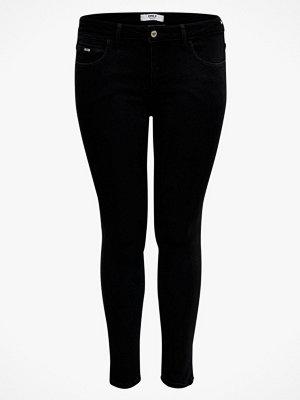 Only Carmakoma Jeans carKarla Reg Sk Ankle Zip Jns