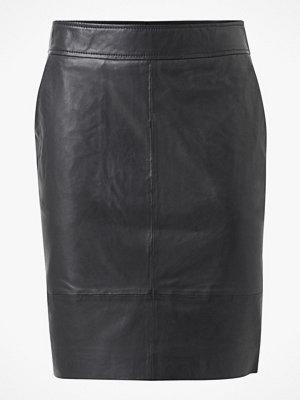 Second Female Skinnkjol Francie Mini Leather Skirt