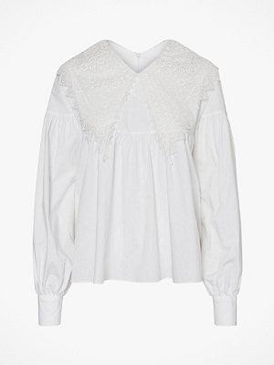 Vero Moda Blus vmCammi L/S Colar Lace Top