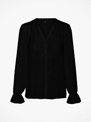 Vero Moda Blus vmZigga L/S Lace Shirt