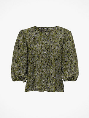 Only Topp onlNova Lux 3/4 Puff Sleeve Top