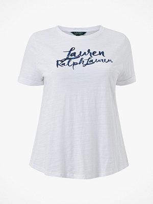 Lauren Ralph Lauren Curve Topp Indie Ctn Slub Jrsy-Ssl-Knt