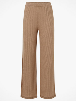 Pieces Byxor pcMolly Pant Lounge beige