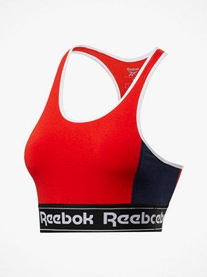 Reebok Performance Träningstopp TE Linear Logo Low-Impact Bralette