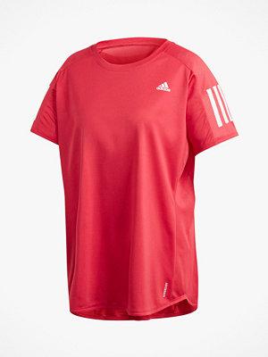 adidas Sport Performance Löpartopp Own The Run Tee Plus
