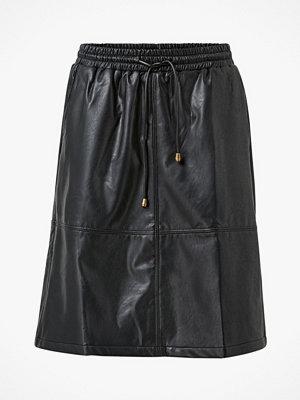 Culture Kjol cuBecky PU Skirt