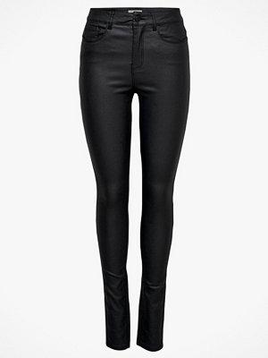 Only byxor Jeans onlAnne K Mid Waist Coated