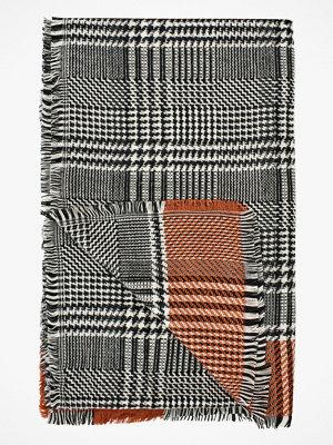 Halsdukar & scarves - Ciso Halsduk med hundtandsmönster