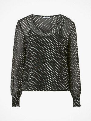 Only Blus onlElena Life L/S V-neck Top Wvn