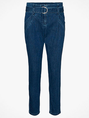 Vero Moda Byxor vmBailey HR Paperbag Denim Belt