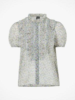 Vero Moda Blus vmMira S/S Frill Shirt