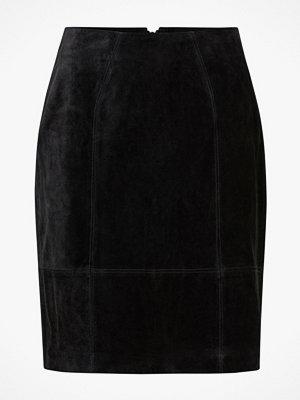 Vila Mockakjol viFaith HW Suede Slit Skirt