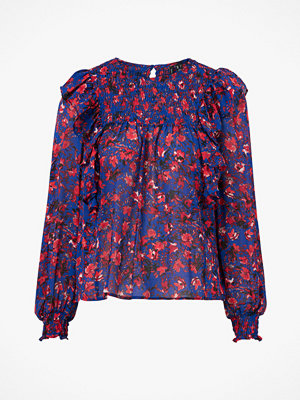 Vero Moda Blus vmMagda L/S Frill Smock Top
