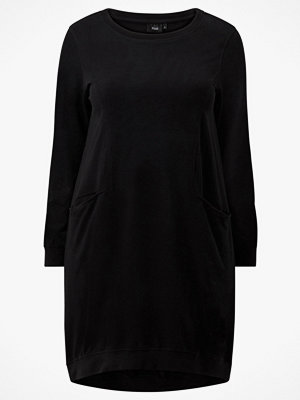 Zizzi Klänning vGiggo LS Sweatshirtdress
