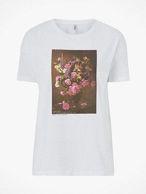 Only Topp onlFlora S/S Flower Box Top