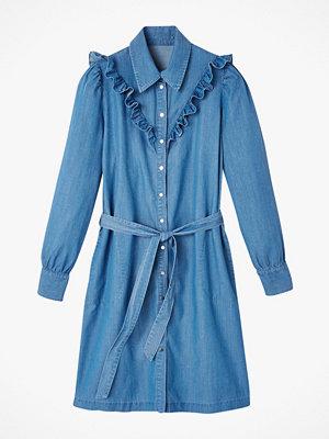 La Redoute Kort skjortklänning i denim med lyocell