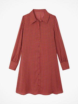 La Redoute Mönstrad skjortklänning med lång ärm