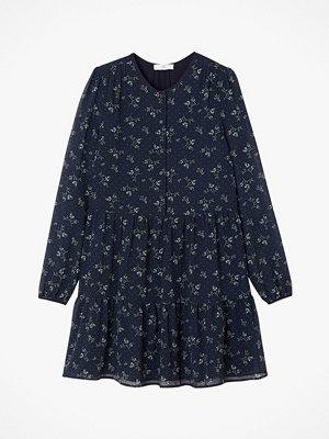 La Redoute Kort, blommig klänning med lång ärm