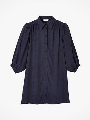 La Redoute Skjortklänning med trekvartslång puffärm