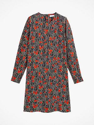 La Redoute Rak, kort klänning med lång ärm