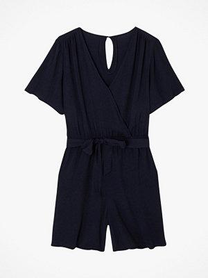 Jumpsuits & playsuits - La Redoute Kort jumpsuit med knytskärp