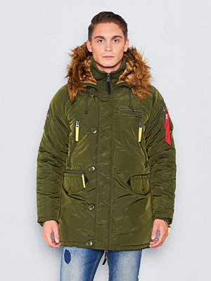 Alpha Industries PPS N3B Jacket Dk Green