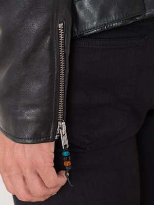 BLK DNM Leather Jacket 5 Black