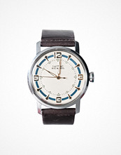 Nic & Mel Wristwatch Walker Blue Dark Brown
