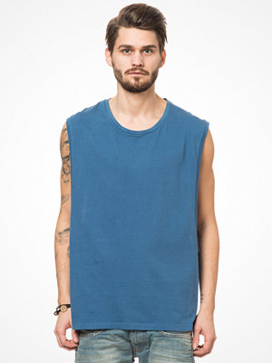 Linnen - Somewear Sleeveless Tee Sideboob Blue