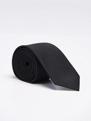 Slipsar - Amanda Christensen Silk Tie Black