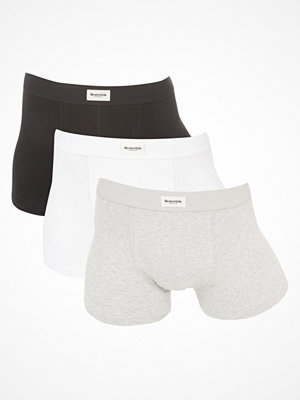 Resteröds Original 3-pack Trunks Black/White/Grey