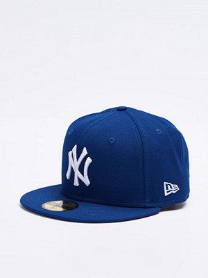 New Era 59 Fifty MLB Basic NY Yankees Royal Optical White