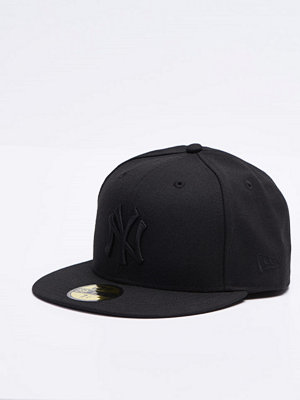 New Era 59 Fifty MLB Basic Black On Black Yankee