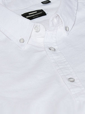 Dr. Denim Pete Shirt White