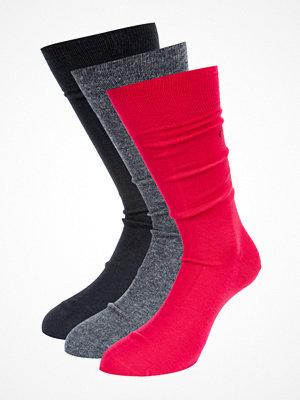 Calvin Klein Underwear 3-pack Socks E57 Red/Grey/Black