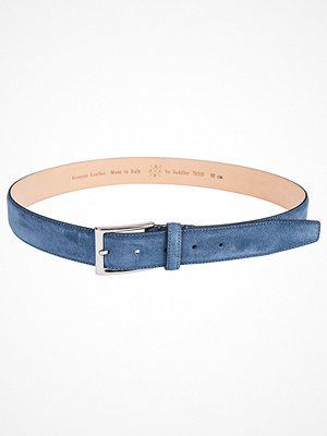 Bälten & skärp - Saddler 78515 Suede Belt Blue