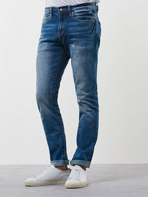 Jeans - William Baxter Ted Slim Fit Mid Blue Wash