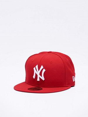 New Era MLB Basic NY Yankees Scarlet/White