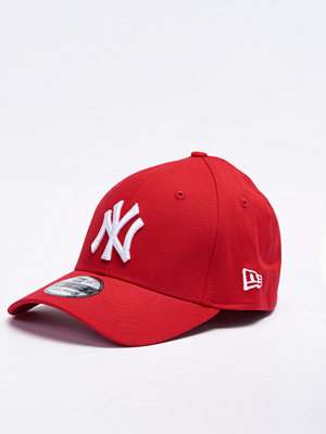 New Era 39Thirty MLB Basic NY Scarlet/White
