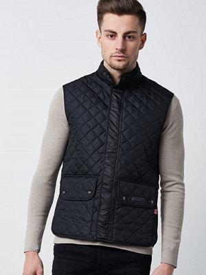 Västar - Belstaff Waistcoat Quilt 9000 Black