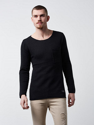 Adrian Hammond Nathan Knitted Sweater Black