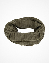 Halsdukar & scarves - Adrian Hammond Knitted Tube Khaki Green