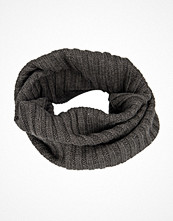 Halsdukar & scarves - Adrian Hammond Knitted Tube Grey Melange