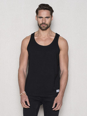Linnen - Frank Dandy Bamboo Tank Top Black