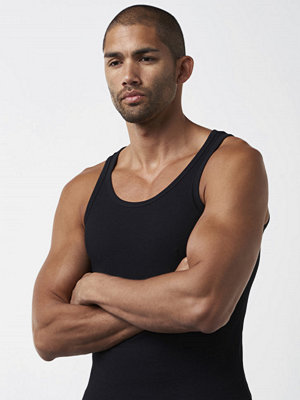 Linnen - Bread & Boxers Tank Ribbed Black