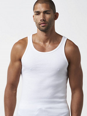 Linnen - Bread & Boxers Tank Ribbed White